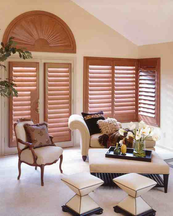 Real Wood Shutters Orlando | Plantation Shutters | paint or stain grade